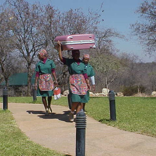 Guests' luggage porters