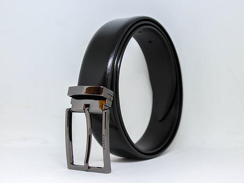 חגורה עור classic black