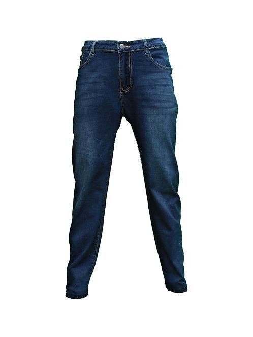 ג'ינס LYCRA שפשוף עדין