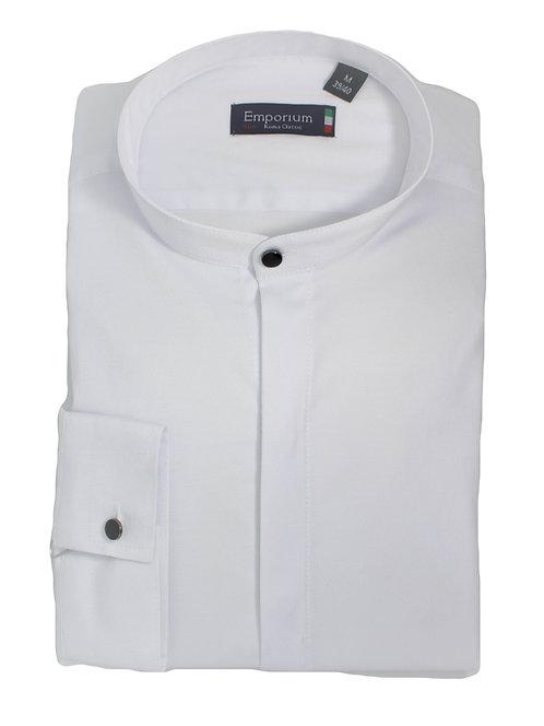 חולצה slim fit צווארון סיני