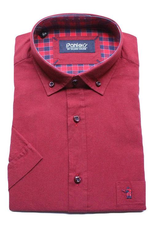 חולצה REGULAR FIT שרוול קצר 100% כותנה