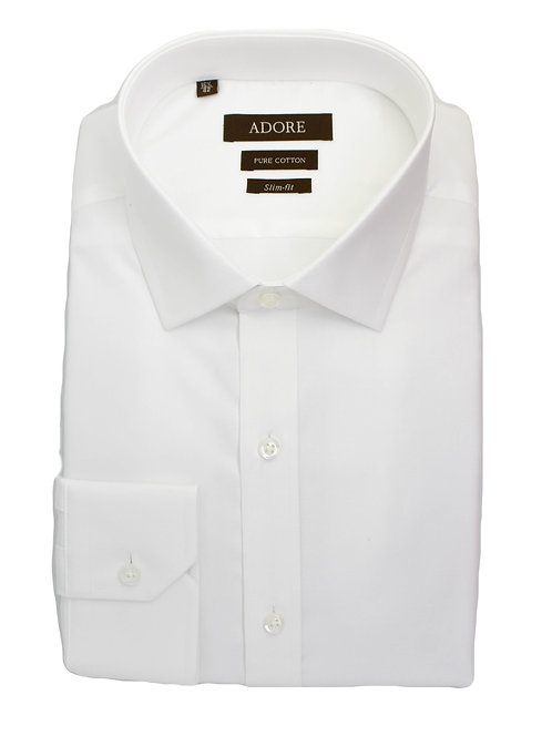חולצה slim fit 100% כותנה