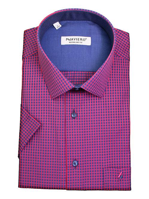 חולצה Regular fit משבצות מודגשות