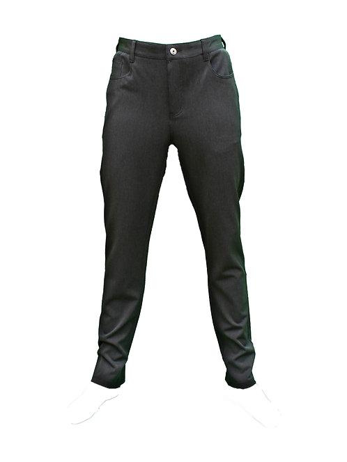 מכנס גיזרה ג'ינס לייקרה