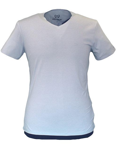 חולצה טריקו לייקרה  V