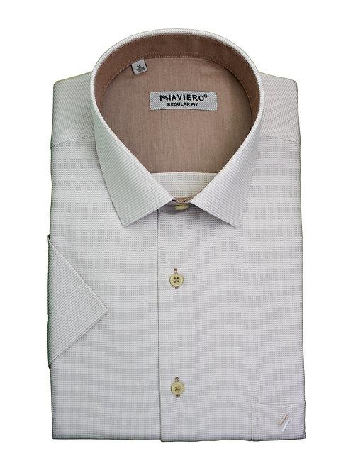 חולצה Regular fit משבצות בבד