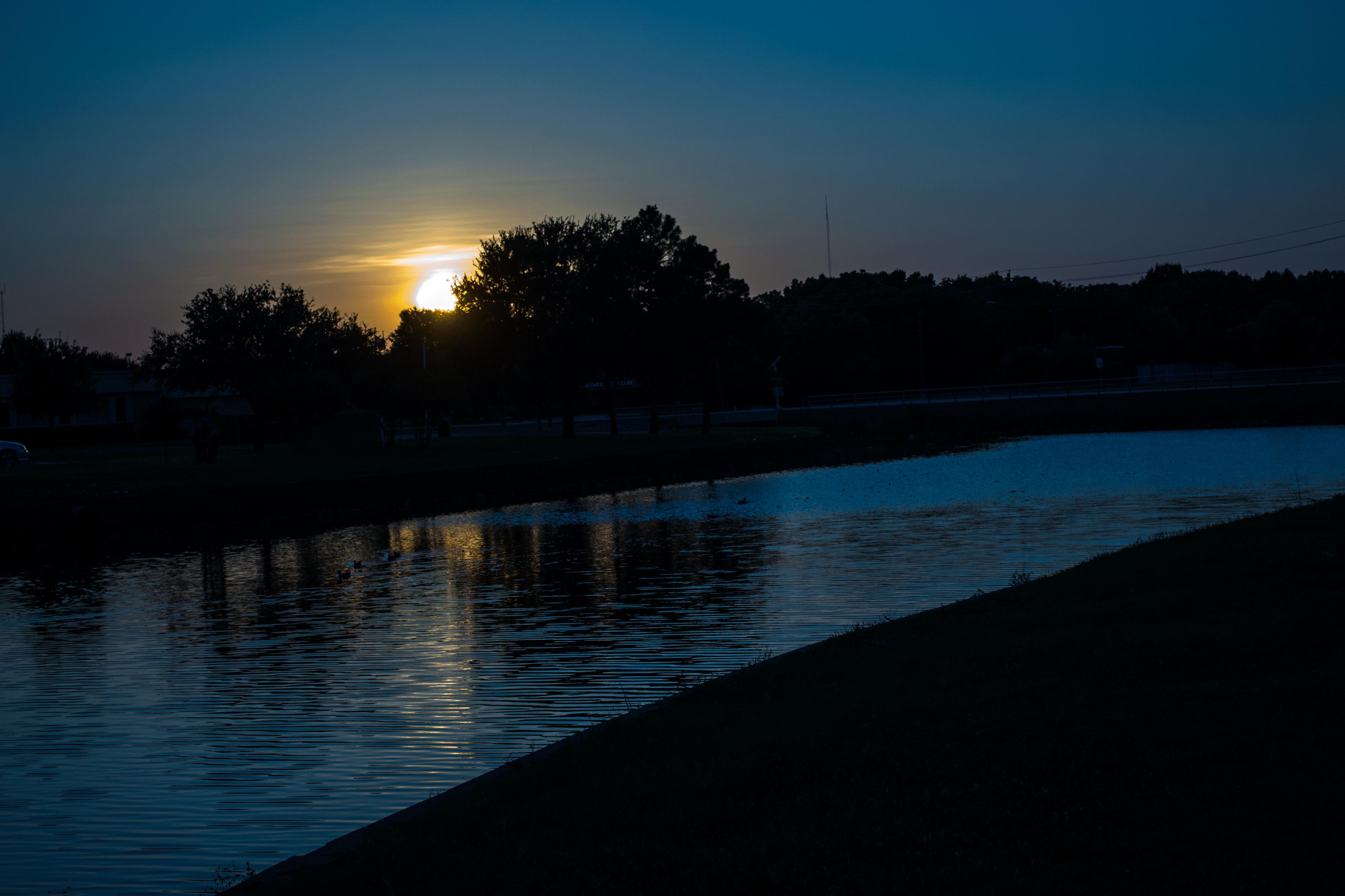 Sunset on Sikes Lake