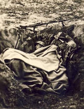 camp life, trenches--sdfa bed-sleeping.j
