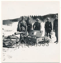 Colt m29 norwegian machinegun captured.