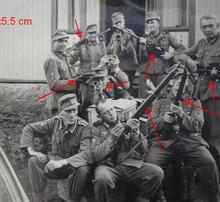Lee Enfield P14, Boys antitank rifle, MP