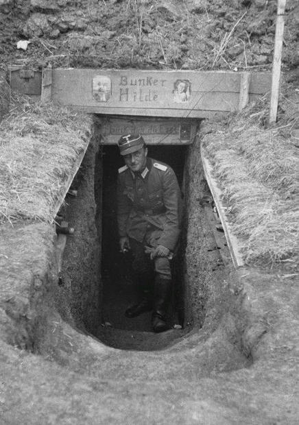 Bunker entrance with sign 51229437_10216