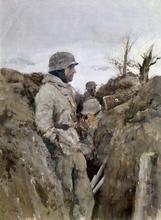 german-soldier-trench-eastern-world-war-