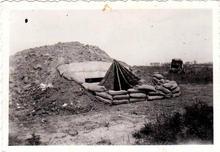Zelt3 in front of bunker--10256365_88496