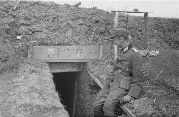 Bunker entrance with sign 50782934_10216