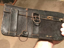 Black dyed French MAS 36 ammo pouch used
