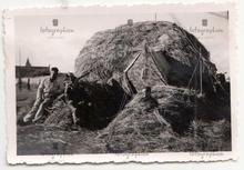 zelt structure in Haystack France 1940 s