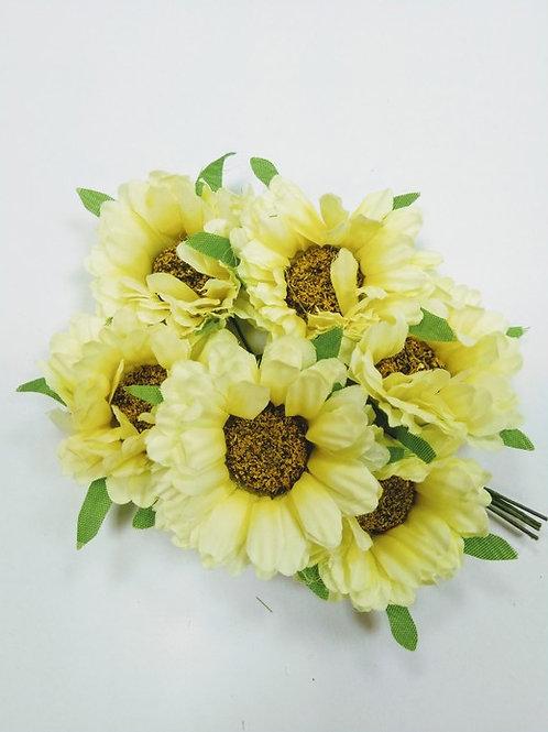 Цветы тканевые