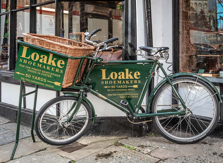 The Brogue Trader TA Loakes Shoemakers Exeter