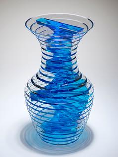 Polished Plate Glass Vases