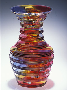 Twisted Solid Vase Form Series