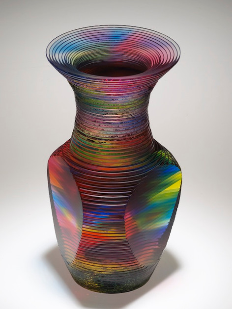 Solid Vase Form Series