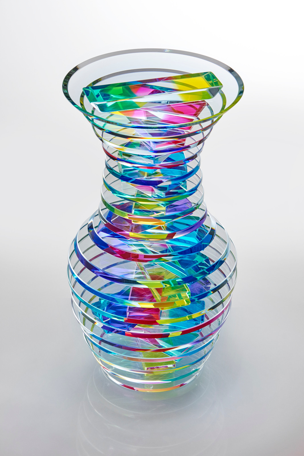cut glass ideas crystal com blue vase wallowaoregon