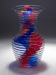 Polished Plate Glass Vase Series