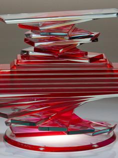 Helix Solid Vase Form Series