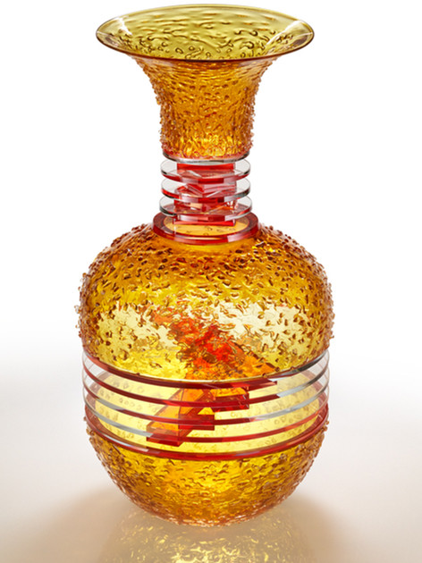 Blown Plate Glass Vases