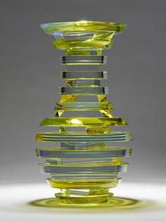 Polished Laminated Plate Glass Vase Series