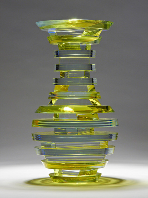 Polished Laminated Plate Glass Vase Series