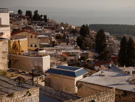סיור סליחות בעיר העתיקה בצפת