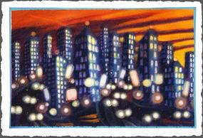 City Sunset III