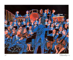 Concert in Blue