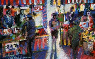 Saturday at the Farmer's Market
