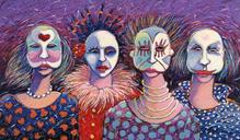 Four Masqueraders