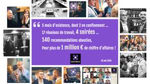 SELECTION30, réseau d'affaires nîmois, fête son 1er million d'euros !