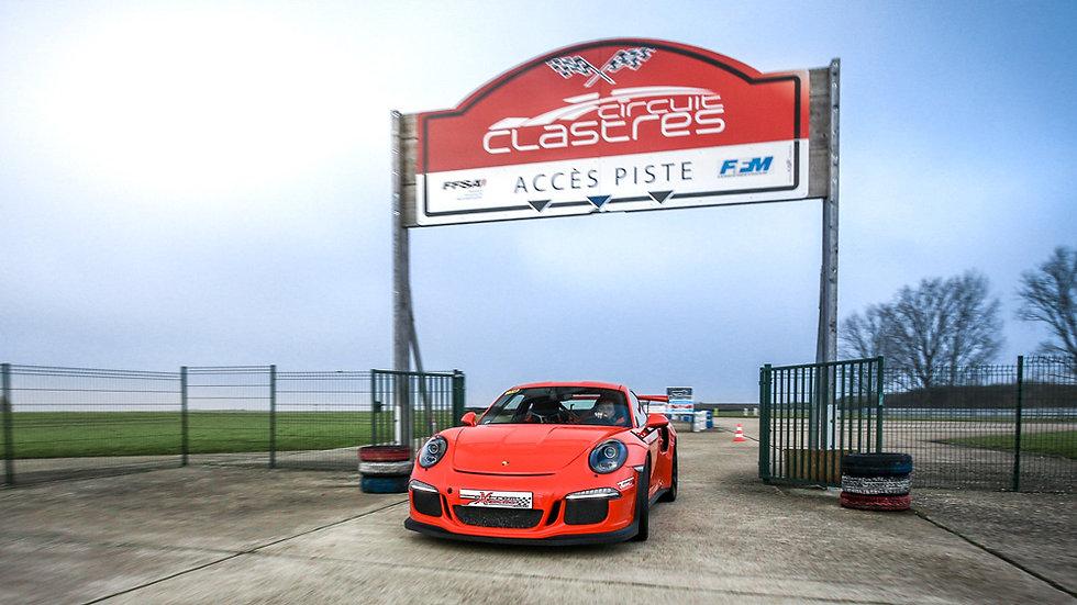 Cours privé de pilotage Porsche 991 GT3 RS - Circuit de Clastres