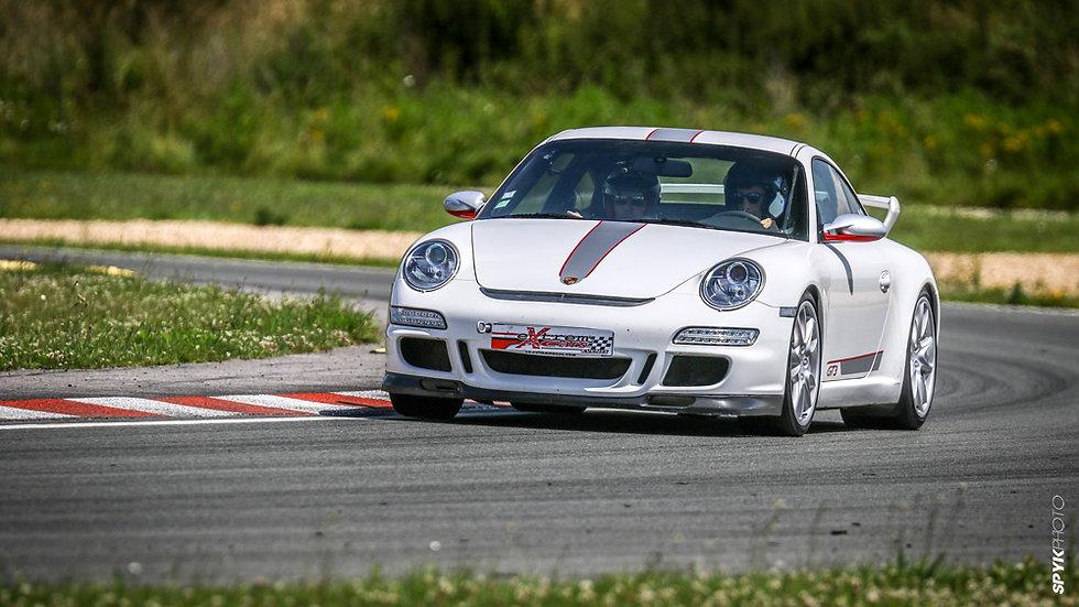 Stage Pilotage Coaching Porsche 997 GT3 - Circuit de Clastres - Extrem Cars