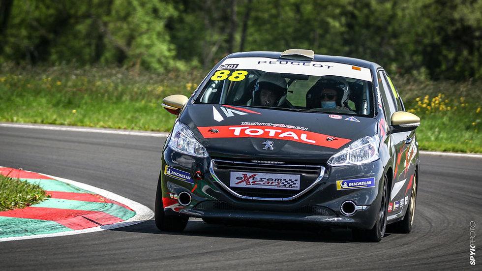 Stage Pilotage Coaching Peugeot 208 RPS - Circuit des Ecuyers - Extrem Cars