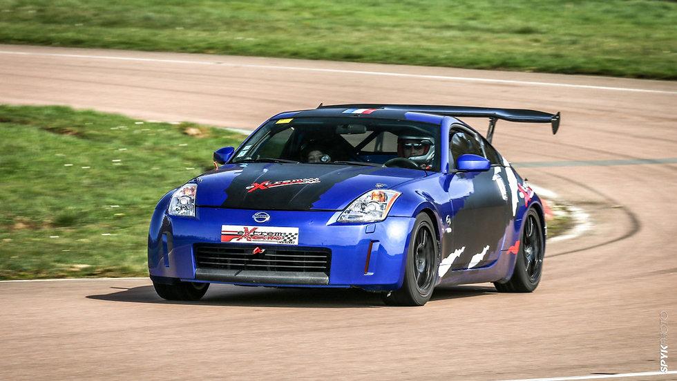 Stage Pilotage  Nissan 350Z - Circuit des Ecuyers - Extrem Cars