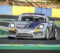Location Porsche Cayman GT4 Clubsport - Circuit des Ecuyers