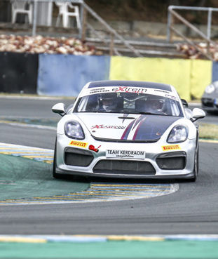 Location Porsche Cayman GT4 Clubsport MR pour compétition automobile