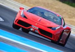 Ferrari 458 Spéciale au Castellet