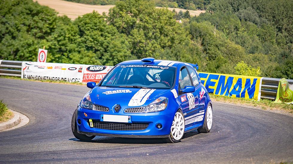 Stage Pilotage Coaching Renault Clio 3 RS Cup - Circuit de Clastres - Extrem Cars