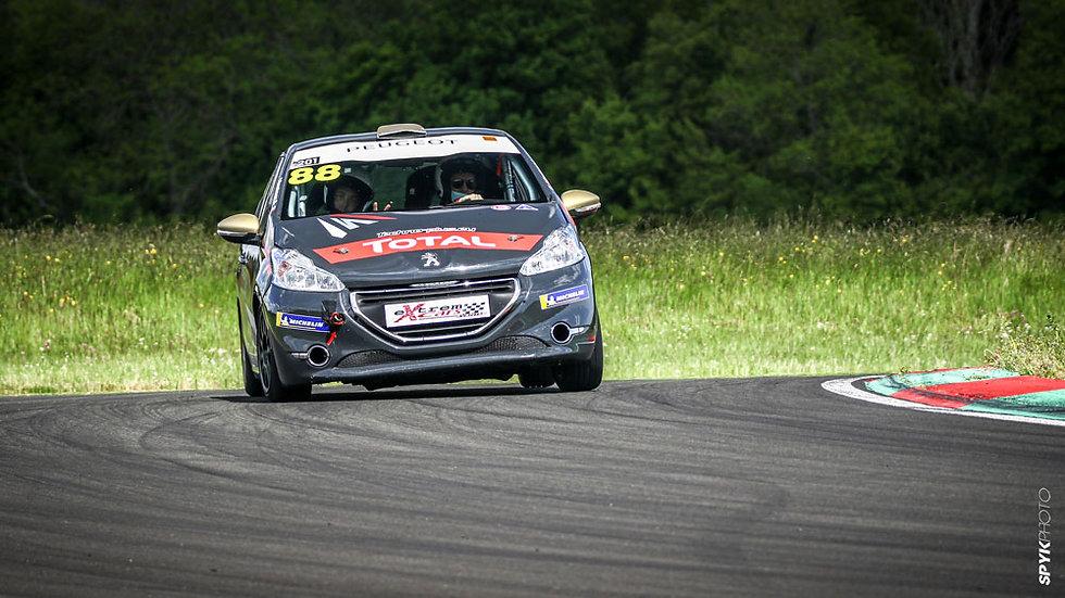 Stage Pilotage Coaching Peugeot 208 RPS - Circuit de Dijon Prenois - Extrem Cars