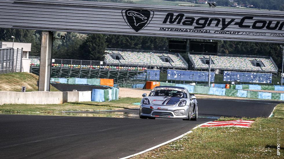Stage Pilotage Coaching Porsche Cayman GT4 Clubsport MR - Circuit de Magny-Cours - Extrem Cars