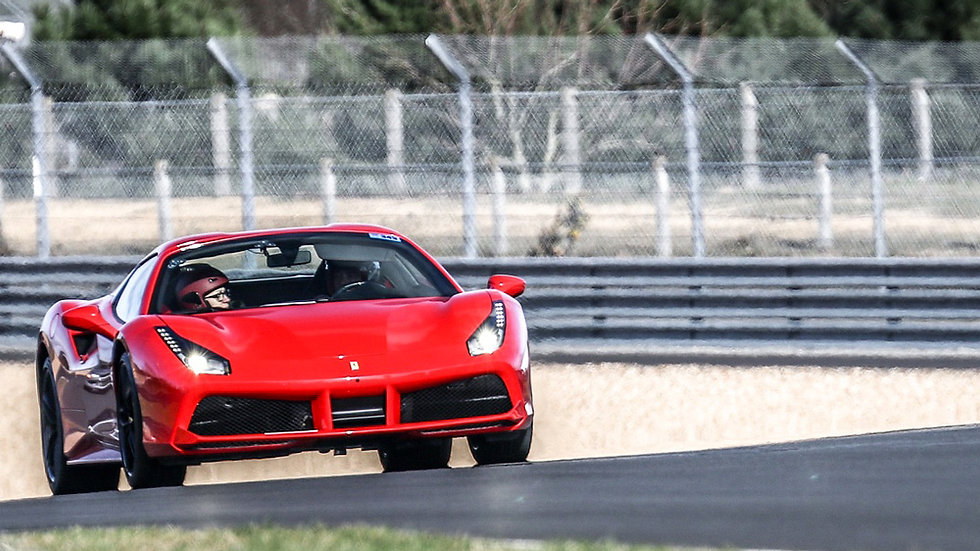 Conduire une Ferrari 488 GTB - Extrem Cars