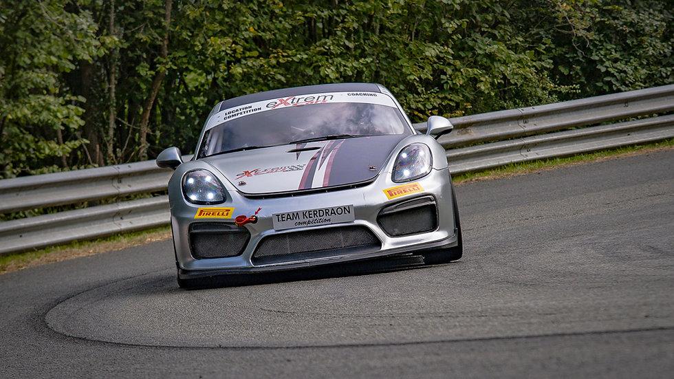 Stage de Pilotage Coaching Porsche Cayman GT4 Clubsport - Circuit des Ecuyers - Extrem Cars