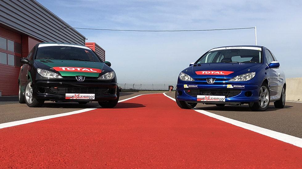 Stage Pilotage Peugeot 206 RPS - Circuit de la Ferté-Gaucher - Extrem Cars